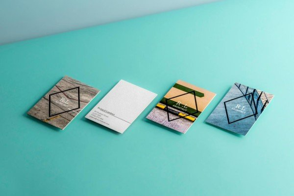 Moo launches letterpress business cards reheart Choice Image