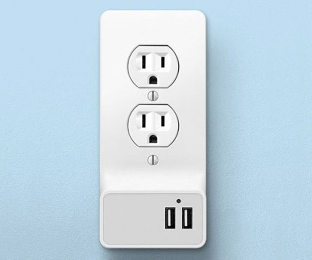 Instant Snap-On Smart Wall Outlet