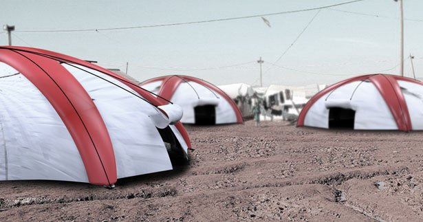 & Parachute u0026 A Tent In One For Disaster Relief